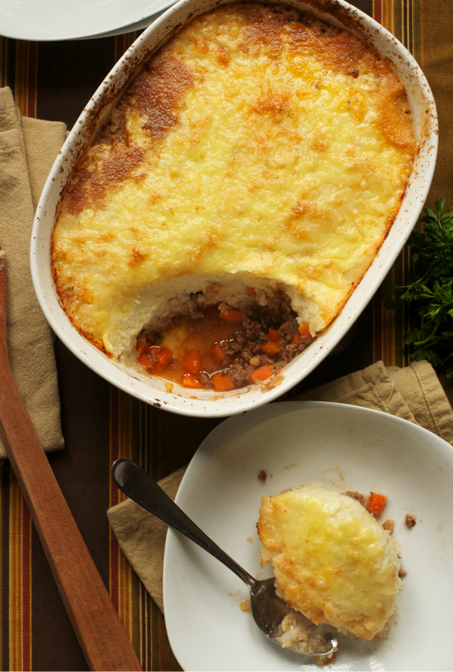 Shepherd's Pie with Cauliflower Topping (GAPS, Paleo, Grain-Free ...
