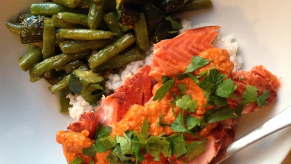 redpeppersalmon